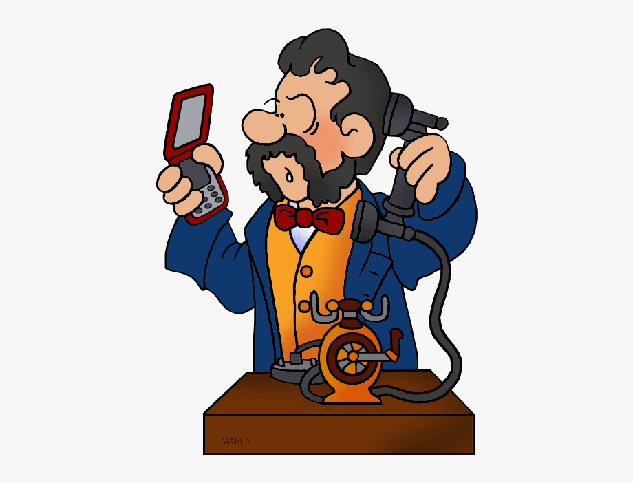 Inventors and inventions clip. Free clipart martin