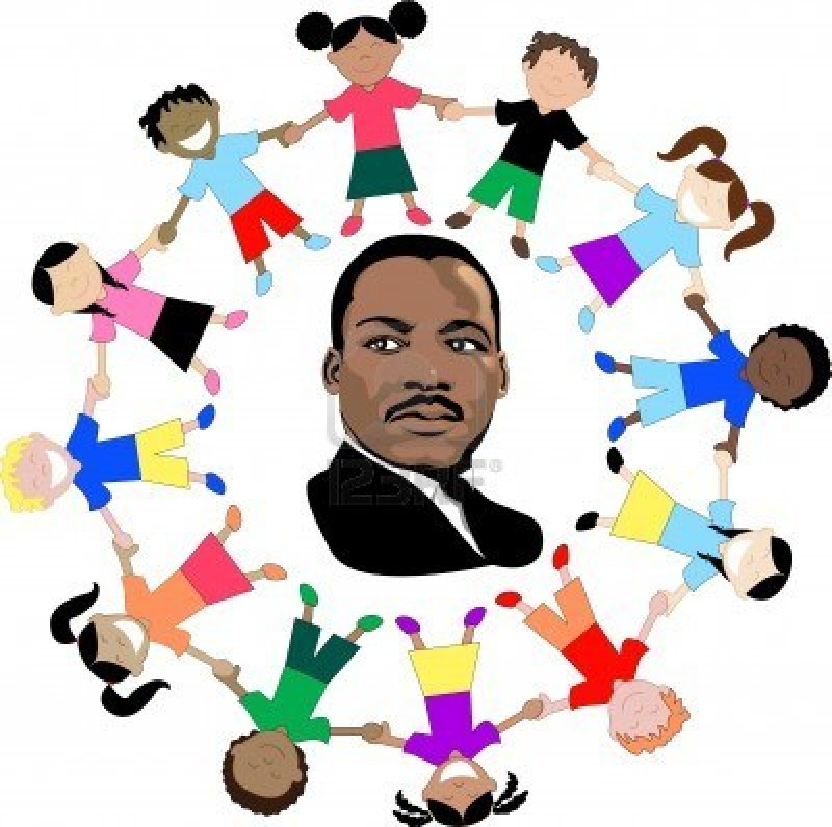 Free clipart of martin luther king jr banner black and white Martin Luther King Jr Day Clipart | Clipart Panda - Free Clipart Images banner black and white