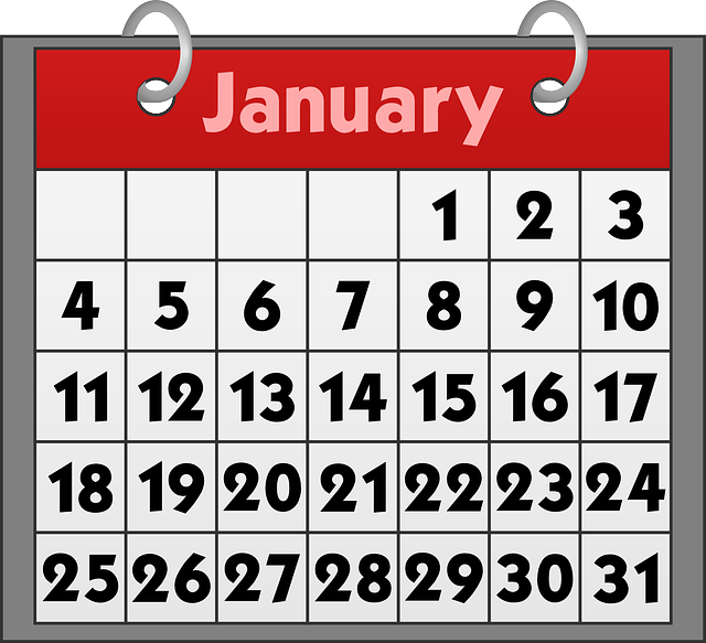 Free clipart may calendar svg freeuse library Free vector graphic: Calendar, Binder, Date, January - Free Image ... svg freeuse library