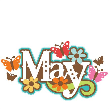Free clipart may calendar graphic free library May calendar title clipart - ClipartFox graphic free library