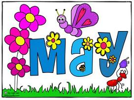 Free clipart may calendar jpg library download Free may calendar clipart - ClipartFest jpg library download