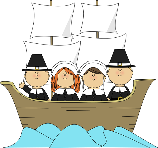 Free clipart mayflower graphic free library free children thanksgiving clip art | Pilgrims on the Mayflower ... graphic free library