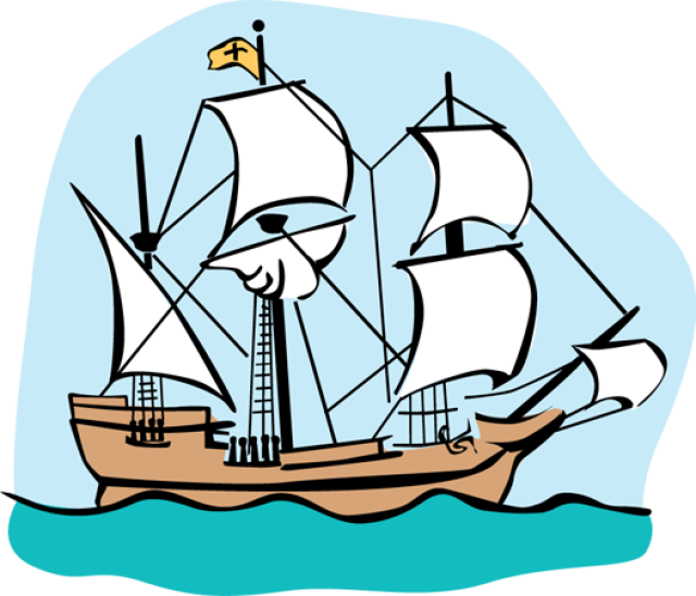 Free clipart mayflower vector library library Mayflower Clipart | Free download best Mayflower Clipart on ... vector library library