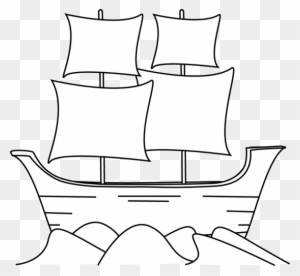 Free clipart mayflower png stock Download Free png Black And White Mayflower Clip May Flowers Clipart ... png stock
