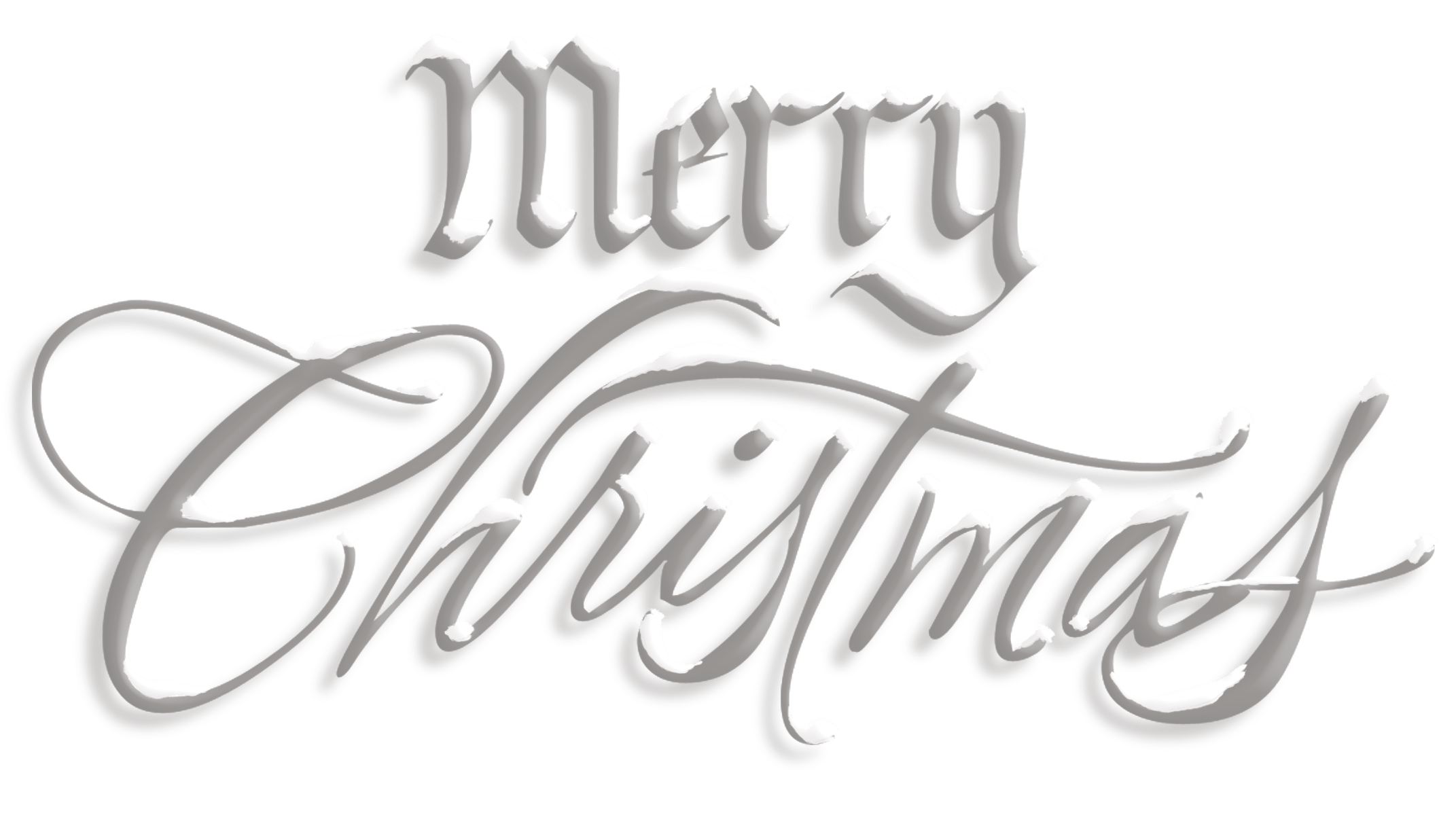 Free clipart merry christmas text image free library Merry Christmas Gold Red Text transparent PNG - StickPNG image free library