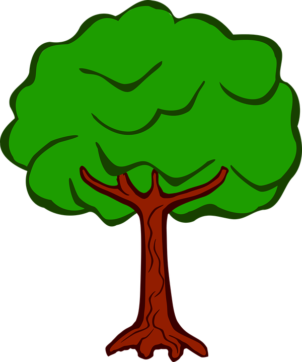 Free clipart money tree black and white stock Collection of Cartoon Tree Cliparts | Buy any image and use it for ... black and white stock