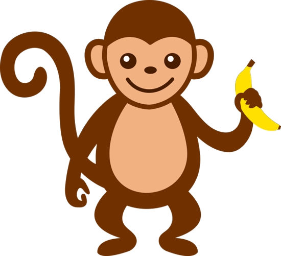 Free clipart monkey pictures. Baby clip art images