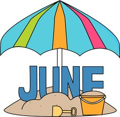 Free clipart month june clip art free download 18 Best June Clipart images in 2018 | Calendar june, Months in a ... clip art free download