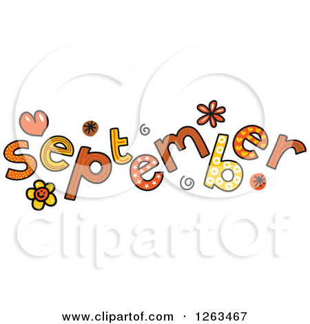Free clipart month september svg black and white library Royalty-Free (RF) September Clipart, Illustrations, Vector Graphics #1 svg black and white library