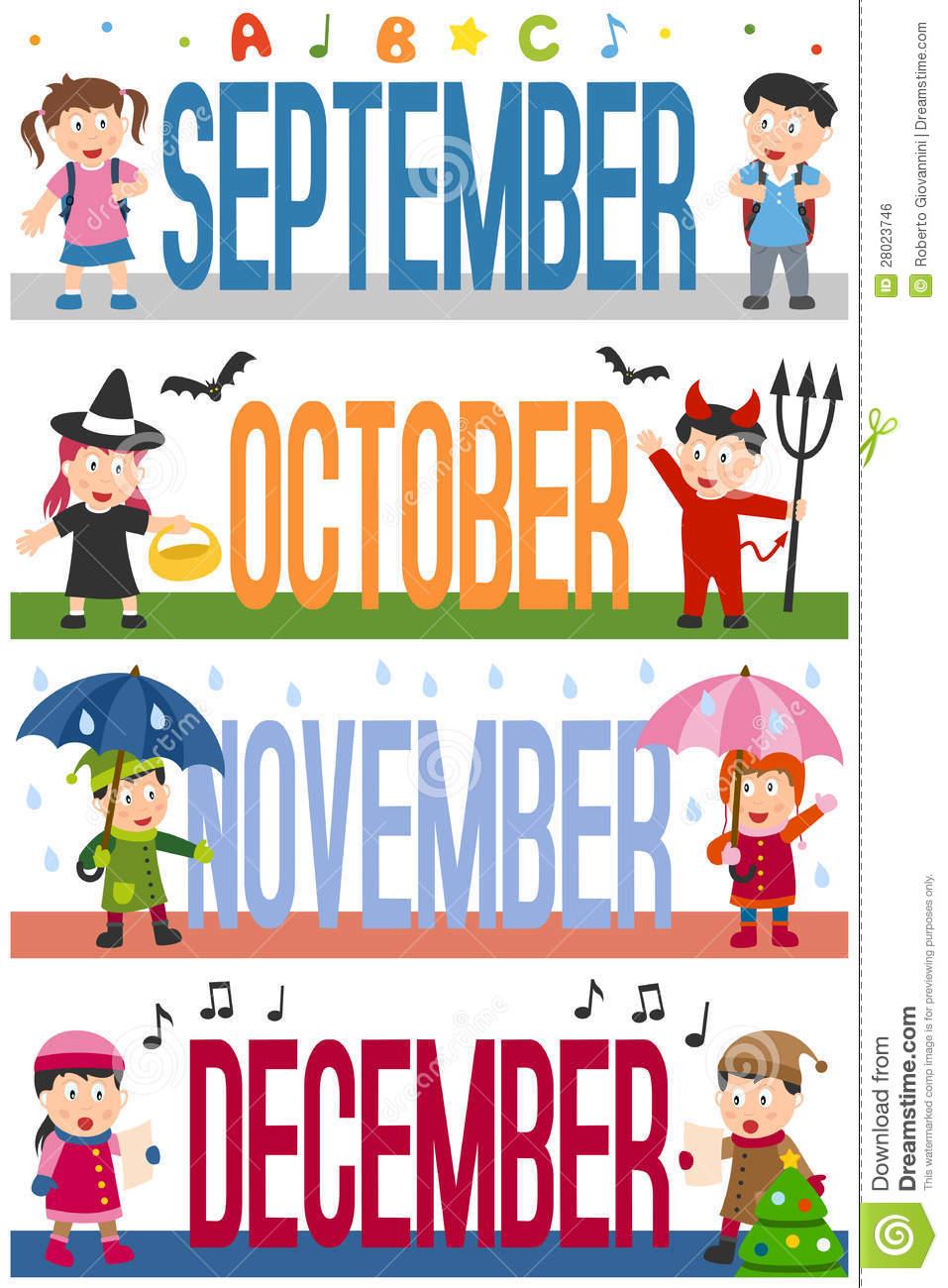 Free clipart month september clip art free stock Calendar September Month Clipart - Clipart Kid clip art free stock