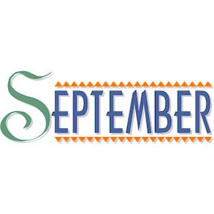 Free clipart month september transparent Post september clip art september images month of september ... transparent