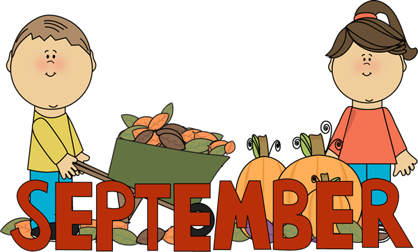 Free clipart month september clipart freeuse Month Of September Clipart - Clipart Kid clipart freeuse