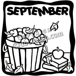 Free clipart month september image freeuse download September clipart free clip art images 2 image - dbclipart.com image freeuse download
