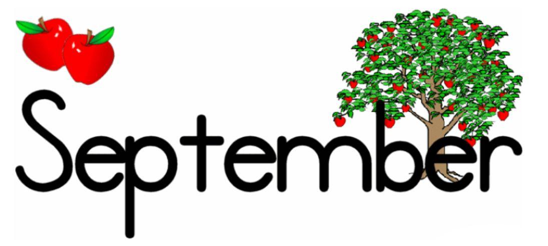Free clipart month september svg freeuse download September month calendar clipart - ClipartFest svg freeuse download