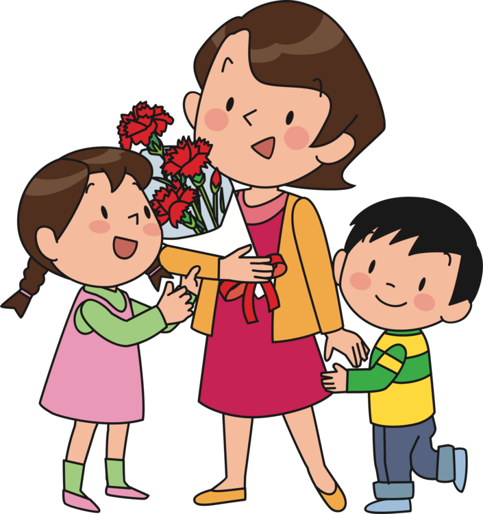Mother with children clipart image library stock Mother son clipart clipart images gallery for free download | MyReal ... image library stock