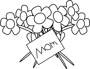 Black and white happy mother s day clipart greetings svg library stock Mothers day black and white happy mother cliparts - Cliparting.com svg library stock