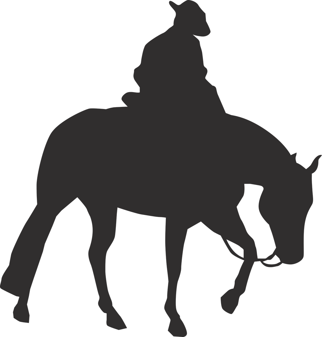 Free clipart mountains with cowboys and horses transparent download Rocky Mountain Horse Pony Vector graphics Equestrian Western riding ... transparent download