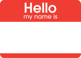 Free clipart name tags.  tag clipartlook