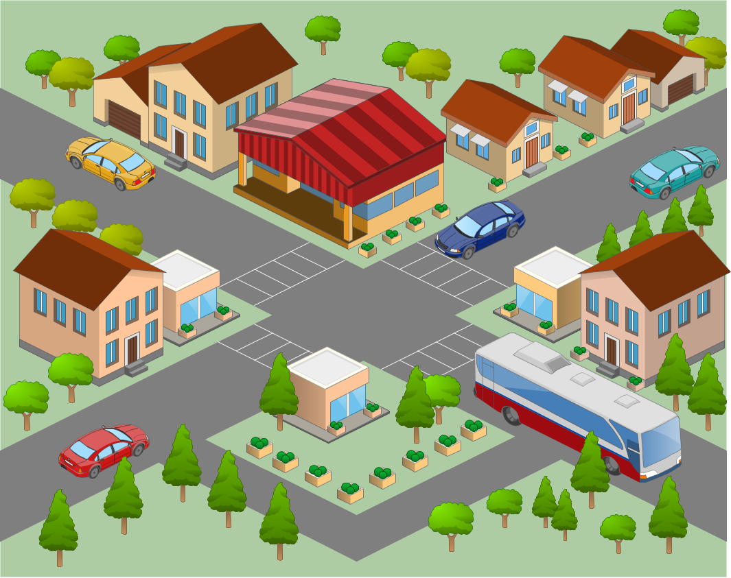 Suburb clipart banner royalty free library Free Neighbor Cliparts, Download Free Clip Art, Free Clip Art on ... banner royalty free library