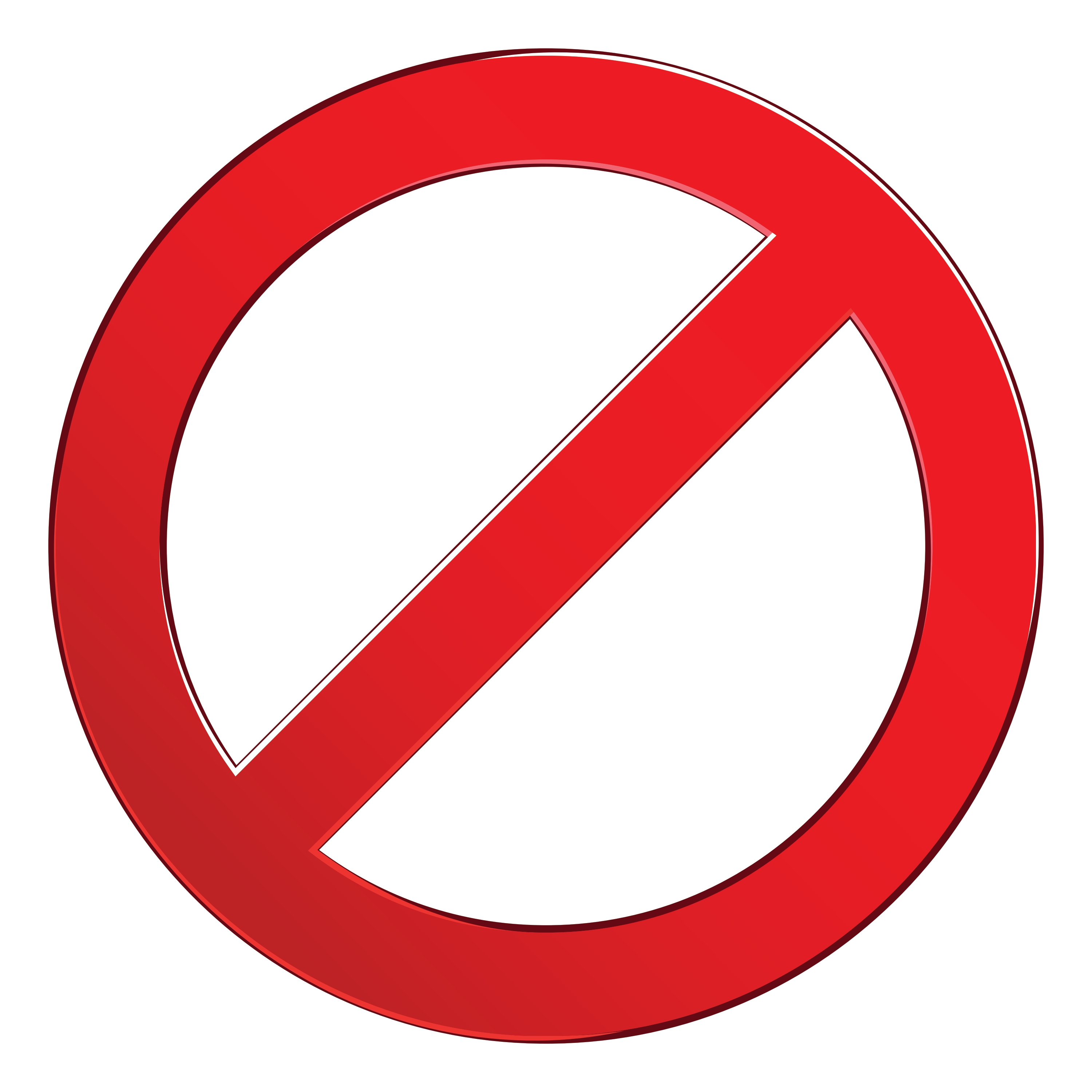 Free clipart no entry sign. N image