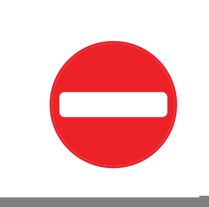 Free clipart no entry sign. Images at clker com