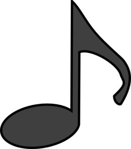 Music panda images . Free clipart notes
