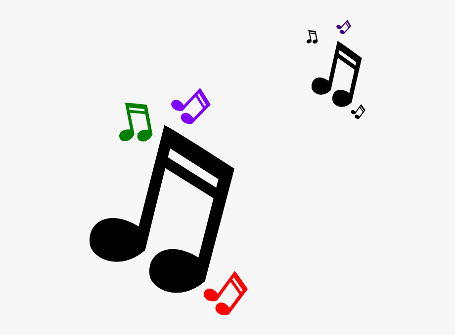 Pictures of musical notes clipart vector black and white stock Colorful Music Note Clip Art Free Clipart Images - Small Music Notes ... vector black and white stock