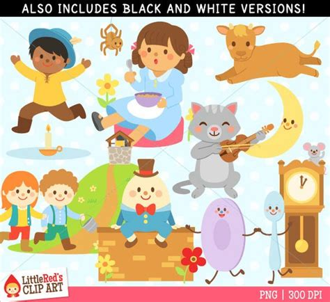 Free clipart nursery rhymes banner black and white stock Rhyme In Art - Tristateportapotty banner black and white stock