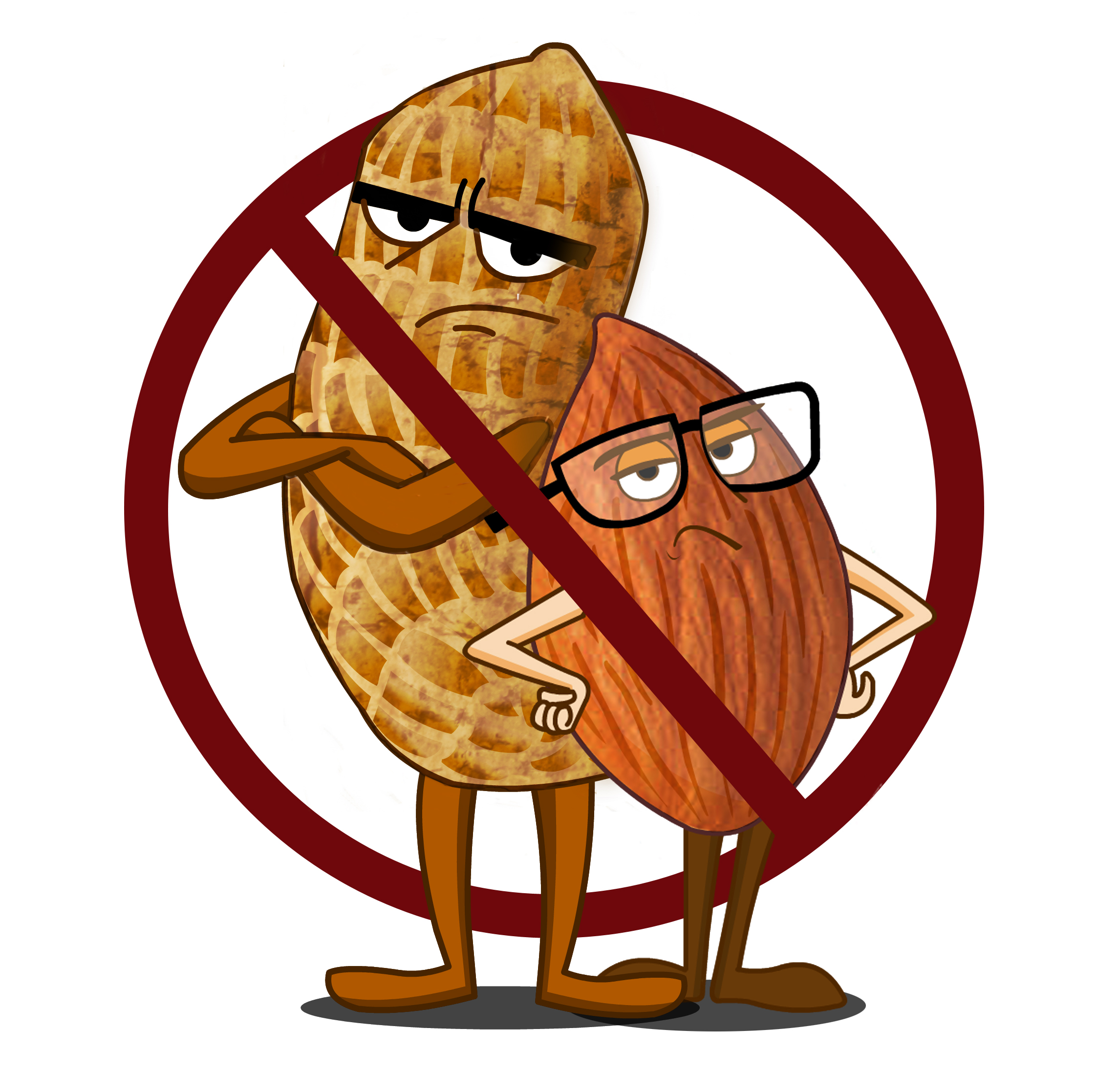 No peanuts clipart png black and white Free Cliparts No Nuts, Download Free Clip Art, Free Clip Art on ... png black and white