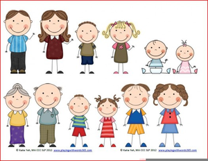 Free clipart of a family image transparent Free Clipart Family Members | Free Images at Clker.com - vector clip ... image transparent