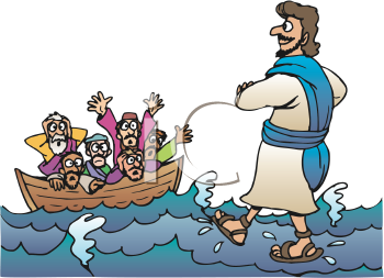 Free clipart of a man resting in jesus banner freeuse library Jesus walks on water iCLIPART - Downloadable royalty-free clipart ... banner freeuse library