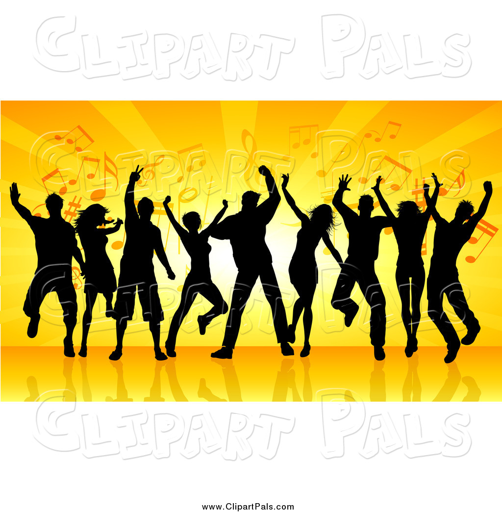 Free clipart of a outlining of crowd dancing clip art stock Dancing Party Clipart | Free download best Dancing Party Clipart on ... clip art stock