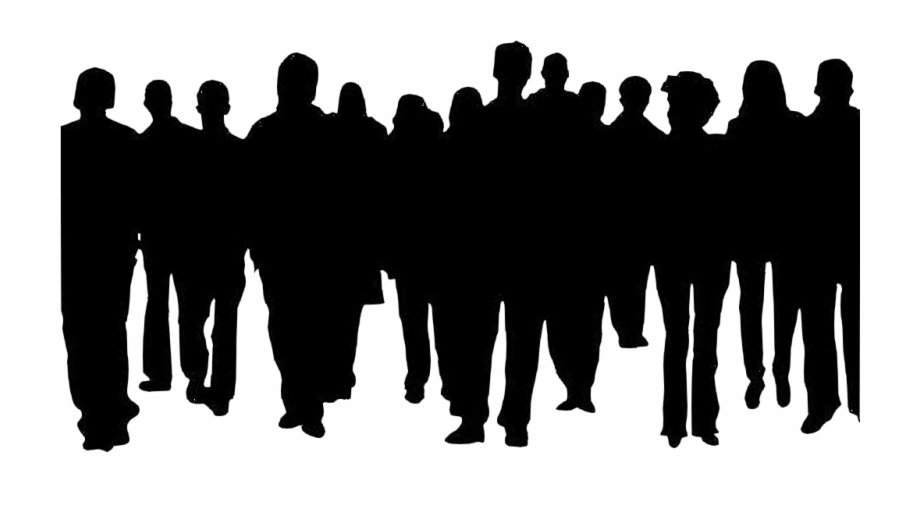 Free clipart of a outlining of crowd dancing picture free stock Crowd Of People Clipart Clip Art - Outline Of A Group Of People ... picture free stock