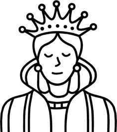 Free clipart of a queen svg stock Clipart of queen - ClipartFest svg stock