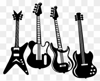Png clip art download. Free clipart of a rock and roll guitar