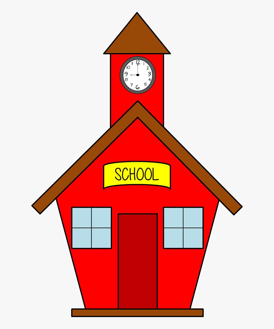 School house clip art. Free schoolhouse clipart