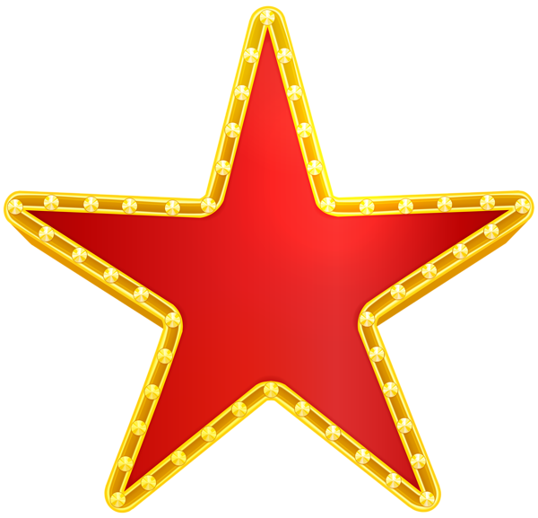 Red gold star clipart picture Star Red Decorative PNG Clip Art Image | Gallery Yopriceville ... picture