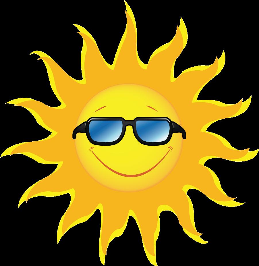 Sunshine clip art images. Free clipart of a sun