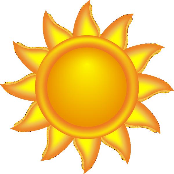 Decorative clip art vector. Free clipart of a sun