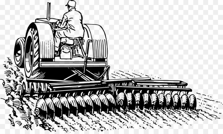 Free clipart of a tractor and plow picture freeuse download Disc Harrow Vehicle png download - 1261*750 - Free Transparent Disc ... picture freeuse download