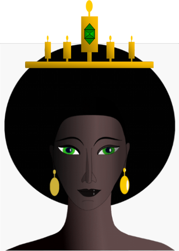 Free clipart of african queens with turbines vector free stock 25871 free black woman silhouette clip art | Public domain vectors vector free stock