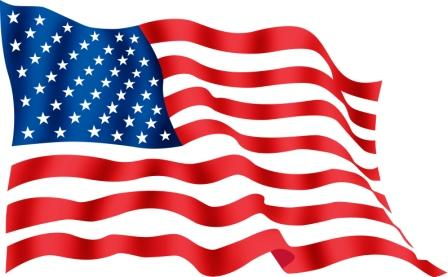 Free clipart of american flag svg royalty free download American flag clip art waving free clipart images - ClipartPost svg royalty free download