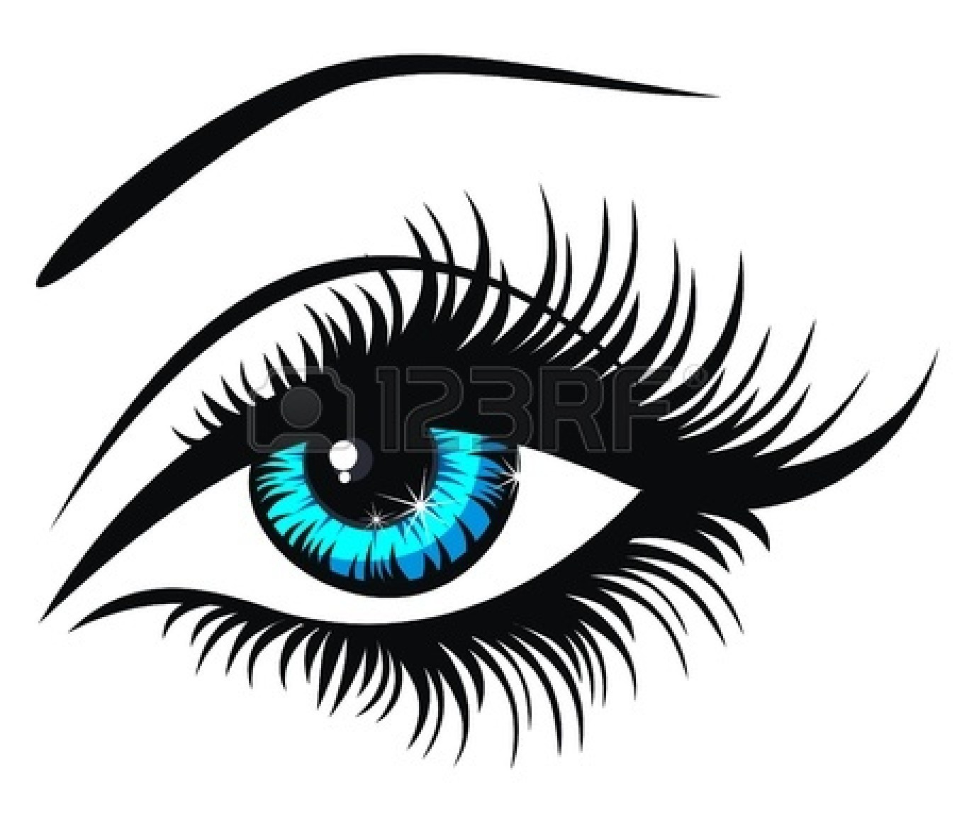 Free clipart of an eye banner transparent library Eye Clipart | Free download best Eye Clipart on ClipArtMag.com banner transparent library