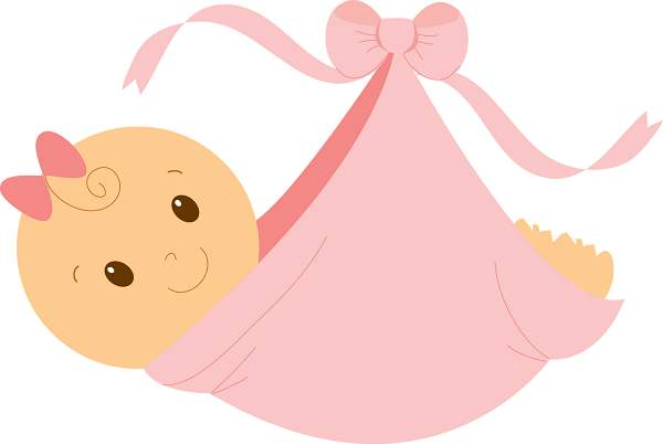Girl pictures clipartix . Free clipart of baby girls