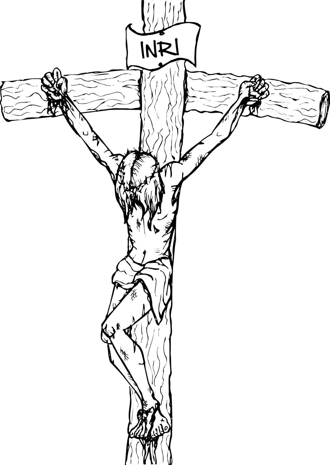 Free clipart of bible and cross vector stock Free Pictures Of Black Jesus On The Cross, Download Free Clip Art ... vector stock