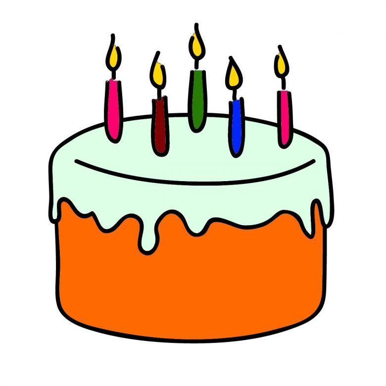 Birthday cake creative commons clipart image stock Birthday Cake Clipart - Free Stock Photo by chakomajaw on Stockvault.net image stock