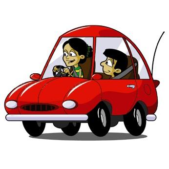 Free clipart of car riding parents & kids clip library stock Free clipart of car riding parents kids - Clip Art Library clip library stock