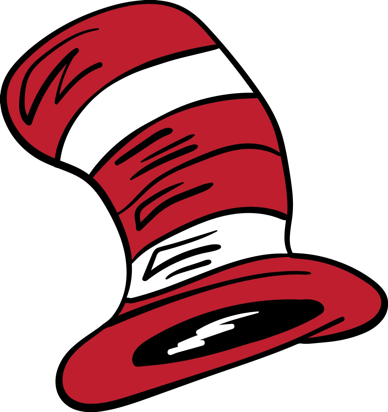 Free clipart of cat in the hat font for cricut black and white Cat in the Hat - Hat SVG - visit www.svgcoop.com to download this ... black and white