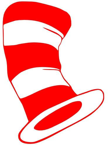 Free clipart of cat in the hat font for cricut clip royalty free library Pin by Peg Smith on Free SVG & WPC Cut Files | Dr seuss shirts, Dr ... clip royalty free library