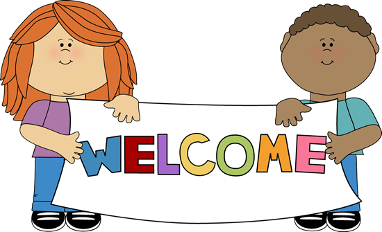 Kids holding sign clipart graphic free download Kids Holding a Welcome Sign | Clip art for schedules | School kids ... graphic free download